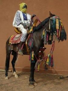 fulani horse rider