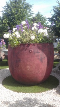 Hampton Court Flower Show - Gigantic Flower Tub