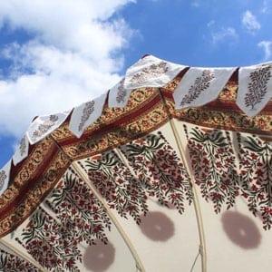 block printing-parasol-lining