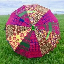 Indian Summer Embroidered Parasol - Bahalu