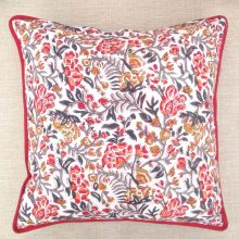 Hand block printed, Rajasthani Cotton Cushion