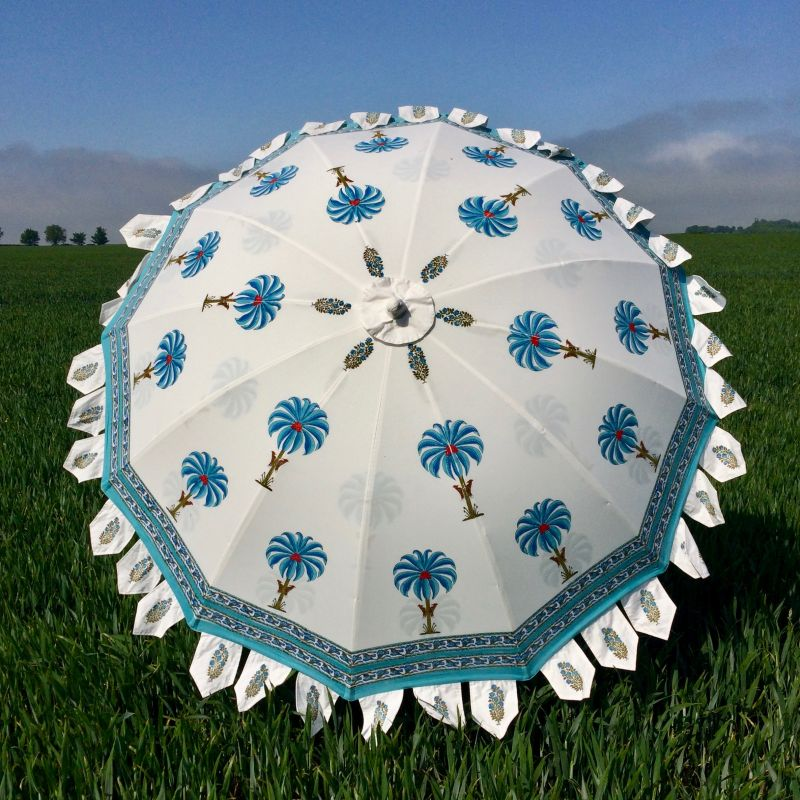 Indian Summer Garden Parasol – Palm