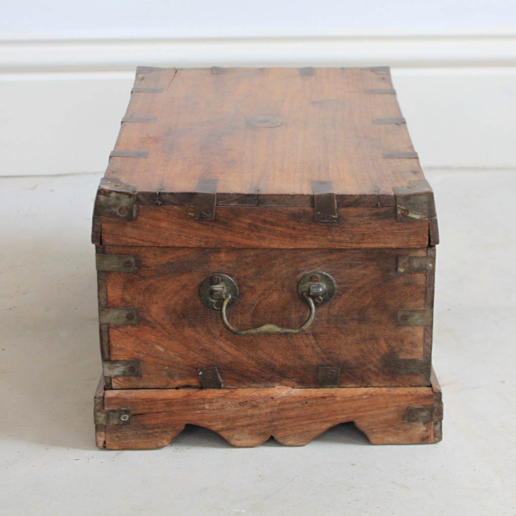 Antique Wooden Money Box Kasakosa Home Decor