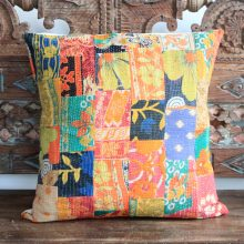 Kantha Cushion - Mishti