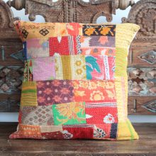 Kantha Cushion - Deepti
