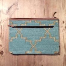 Boho macbook / laptop case - Pastel Green