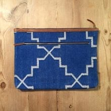 Boho macbook case - Blue