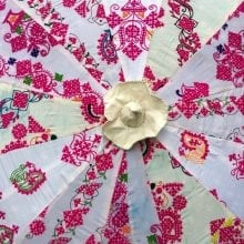 Indian Summer Embroidered Parasol – Charvi