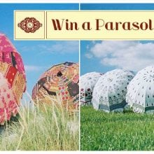 WIN an Indian Summer Prized PARASOL!!!