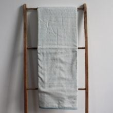 Single Blankets – Blue Vegetal Hand blocked Muslin Dohar