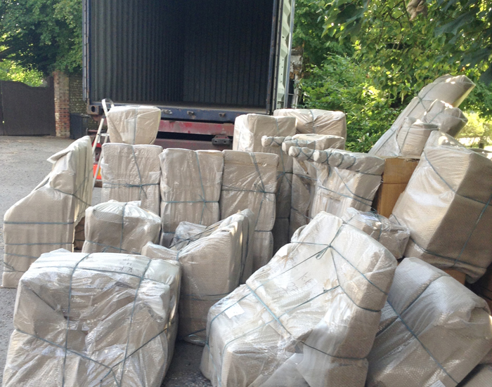 Special Delivery – Our first container has arrived!!
