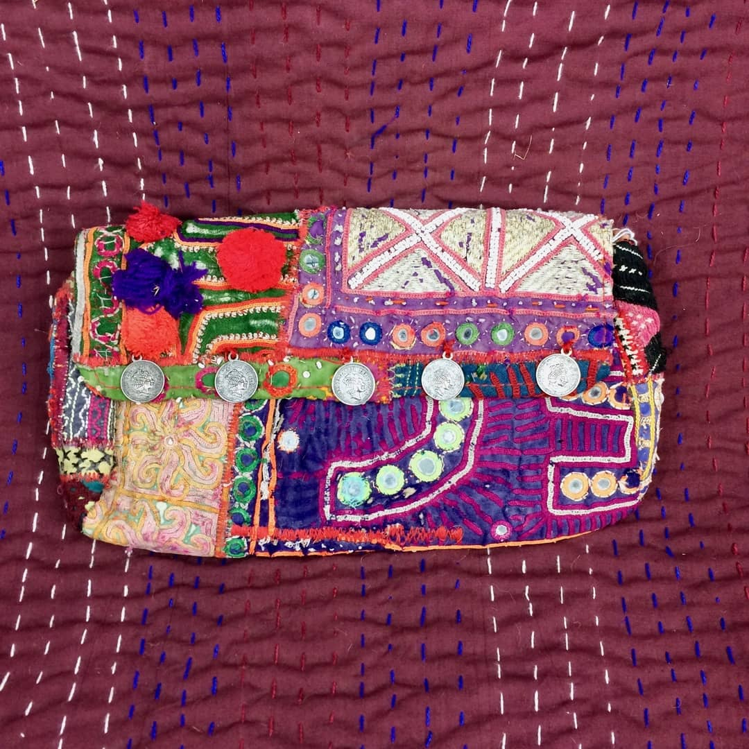 Indian Shisha Clutch Bag