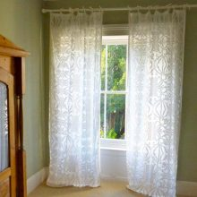 Silk Organza Curtains